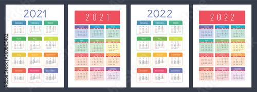 Cuadros en Lienzo Calendar 2021 and 2022