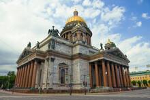 St. Isaac Cathedral Close-up O...