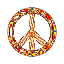 Abstract Illustration Of Peace...