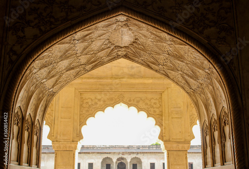 Fototapeta Agra Fort is a historical fort in the city of Agra of India. obraz