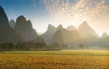 Landscape Of Bama In Guangxi,c...
