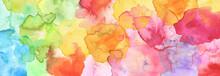 Watercolor Smear Blot Painting...