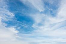 Blue Sky With White Cloud Beau...