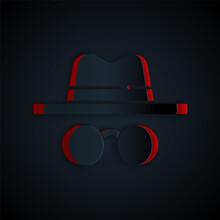 Paper Cut Incognito Mode Icon ...