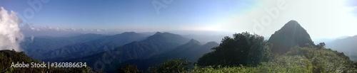 Obraz panorama of the mountains mokoju - fototapety do salonu