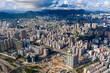 Aerial panoramic view of Hong Kong