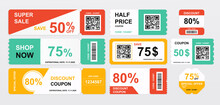 Collection Of Coupons Offering...