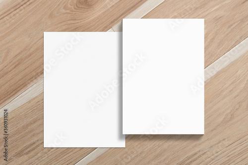 Photo Multipurpose A4 format minimalist flat lay Mockup
