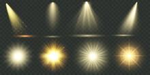 Light Effect. Vector Shining G...