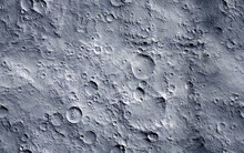 Moon Surface. Seamless Texture...