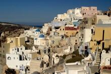 Cityscape Of Santorini With It...