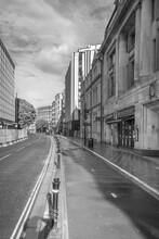 BRISTOL, UNITED KINGDOM - May 01, 2020: Bristol, UK - 1st May 2020: Baldwin Street Deserted.