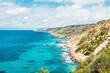 canvas print picture - Coast of the sea near the village of Mallorca