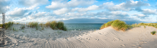 Photo Dune beach at the North Sea coast, Sylt, Schleswig-Holstein, Germany