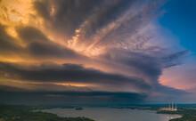 Shelf Cloud Ahead Of Severe St...