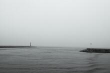 Mini Lighthouses On The Coast....