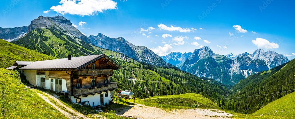 Fototapeta landscape at the european alps