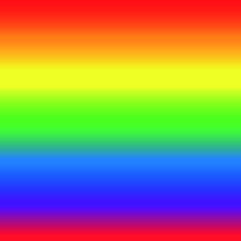 Rainbow, A Spectrum Of Seven Seamlessly Shifting Colors, Colorful Background