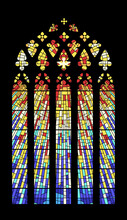 Stained Glass Window Cathedral...