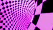 Leinwandbild Motiv Multicolored circular abstract background. Tunnel of lines.