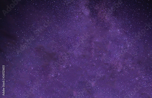 dark purple star sky in the night