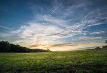 Sunset On A Former Open Battle...