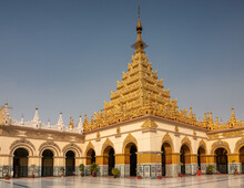 Golden Stupa Of The Mahamuni P...