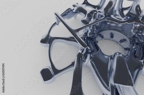 Fotografie, Tablou 3d Abstract Design