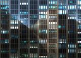 building office skycraper windows facade front