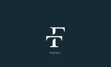 Alphabet Letter Icon Logo TF O...