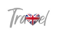 Travel United Kingdom Love Hea...