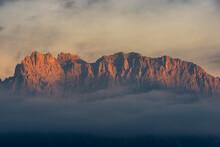 Karwendel Mountain View During...