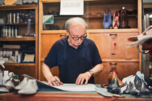 Shoemaker In His Shop
