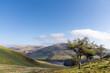 canvas print picture - Ridge walk in Pentland hills, Scotland