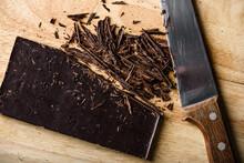 Crushed Dark Chocolate Bar Wit...