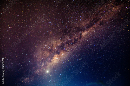 stary night with milky way in the Atacama desert in Chile #5