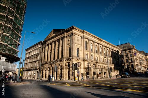 Photo Bradford, UK, 9th October 2013, the historic Bradford St Georges Hall Theatrees