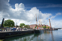 Liverpool, Merseyside, UK, 11th June 2014, A Daytime View Of Canning Dock In The Cultural Quarter Of Liverpool