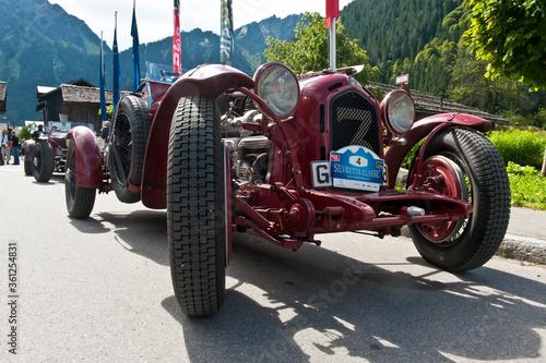 Alfa Romeo 8C 2300 vintage race car