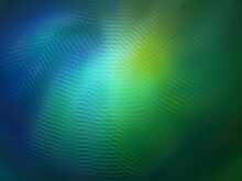 Abstract Green Blue Spiral Background For Wallpapers