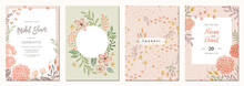 Set Of Floral Universal Artist...
