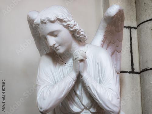 ange église saint prière ailes Slika na platnu