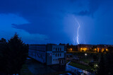 Fototapeta Tęcza - burza