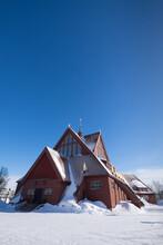 Kiruna Church Is A Church Buil...