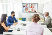 Video Conference In The Team M...