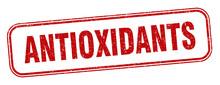 Antioxidants Stamp. Antioxidan...