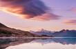 Leinwanddruck Bild - Mt Cook