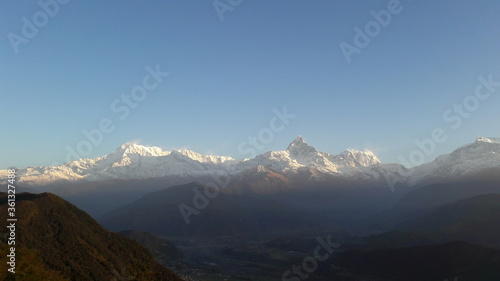Annapurna Valley Nepal Canvas Print
