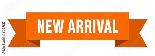 new arrival ribbon Canvas Print