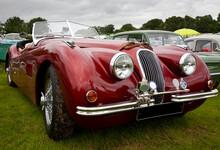 Classic Jaguar Sports Car